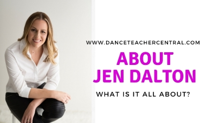 About Jen Dalton and Dance Teacher Central