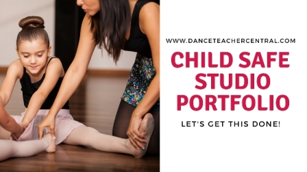 Child Safe Portfolio by Dance Teacher Central