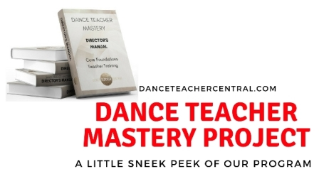 Dance Teacher Mastey Sneak Peak